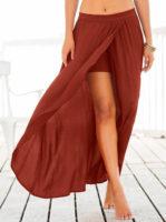 Dlouhá sukně se spodními šortkami