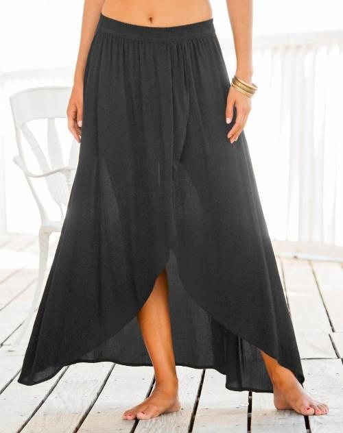 Lehounká dlouhá letní sukně