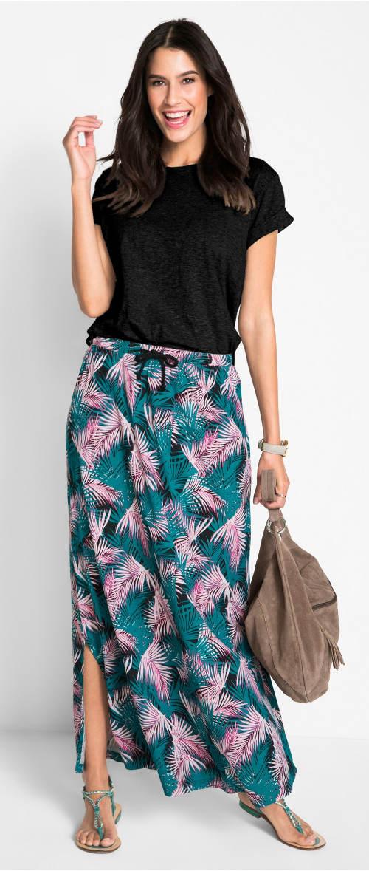 Lehounká maxi sukně na léto
