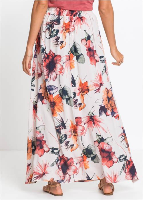 6b38b4652 Dlouhá vzdušná květinová sukně ...