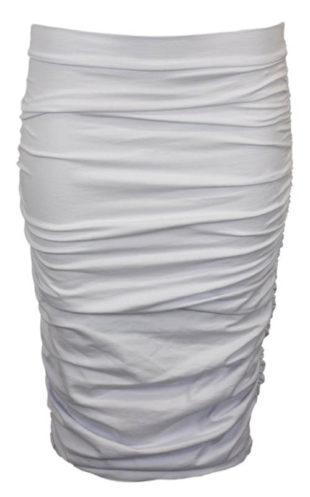 Bílá řasená sukně Sailor Tom