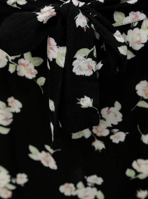 Maxi sukně s květinovým potiskem