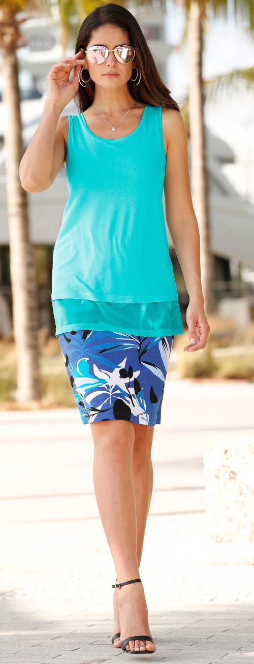 Nadměrná letní sukně