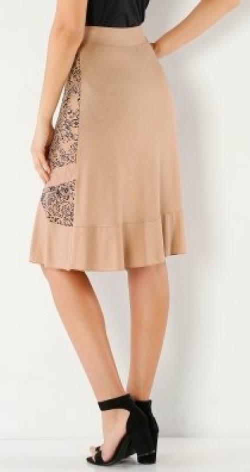Vzdušná žeržejová sukně