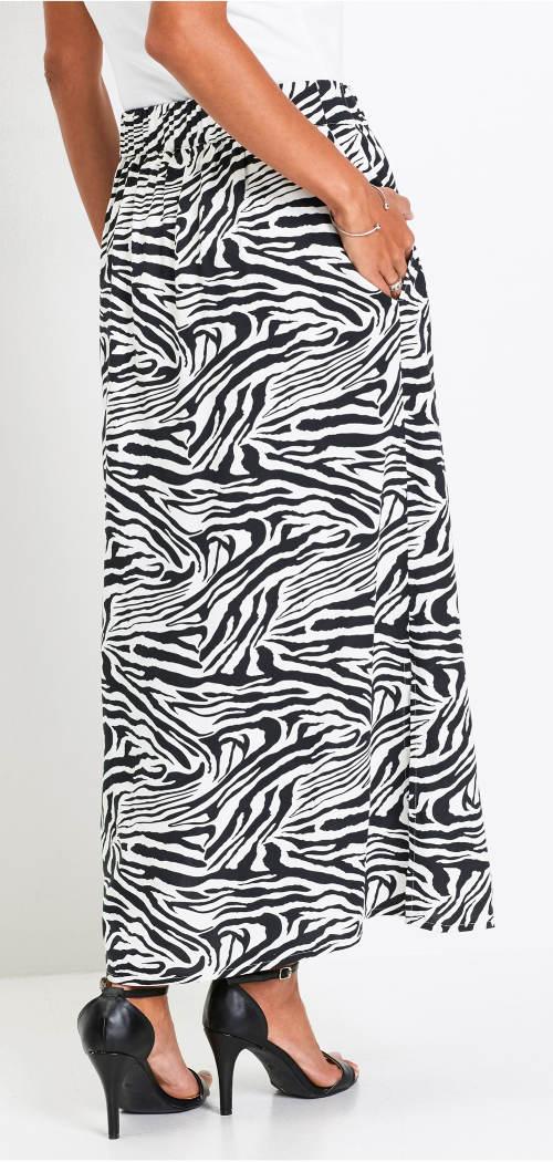Dámská sukně zebra