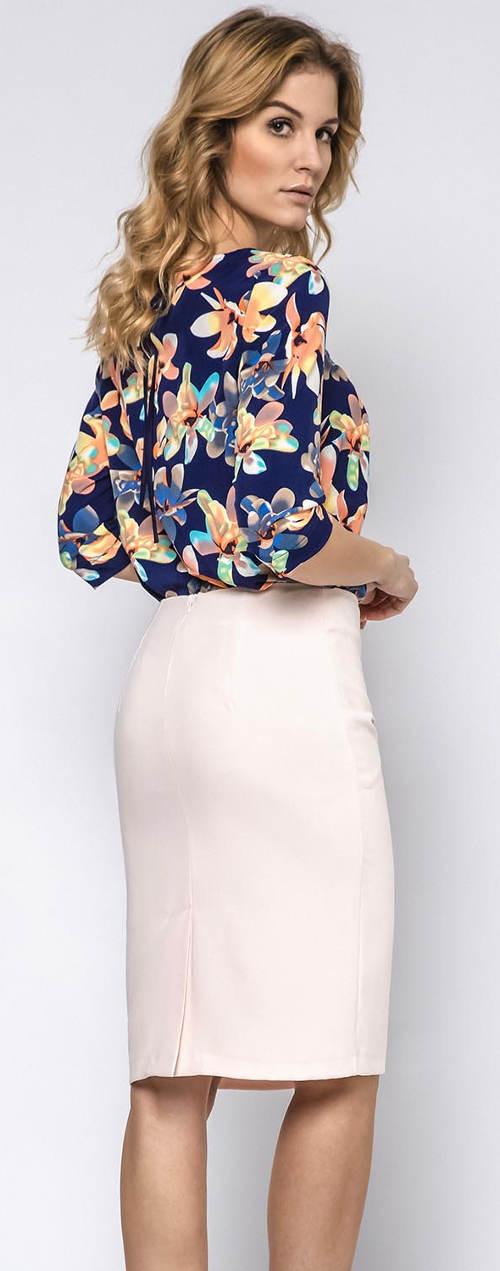 Společenská sukně pro plnoštíhlé