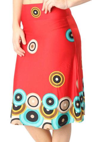 Barevná dámská sukně výprodej