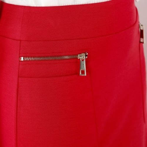 Falešné zipy na sukni