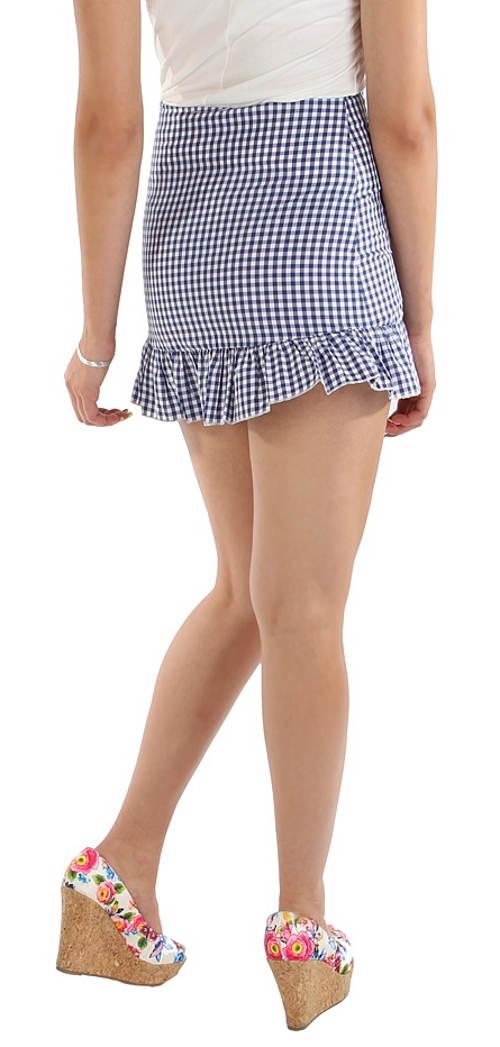 92199f09bd1 Krátká karovaná sukně