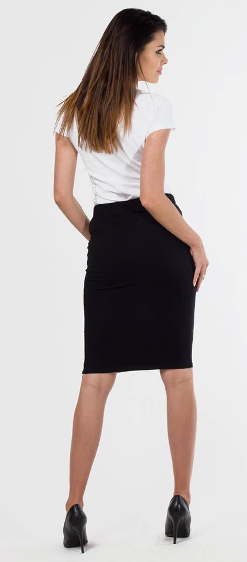 Levná černá společenská sukně