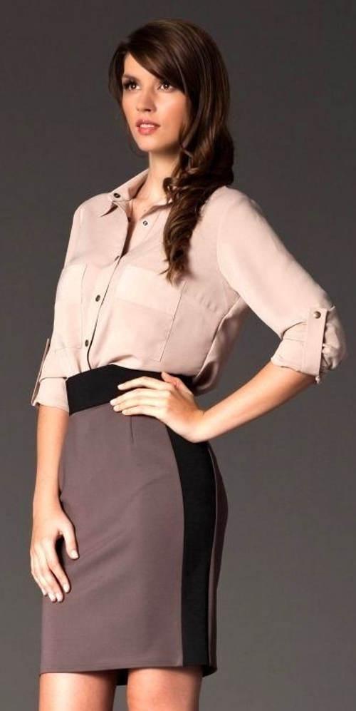 Levná společenská sukně s vyšším pasem