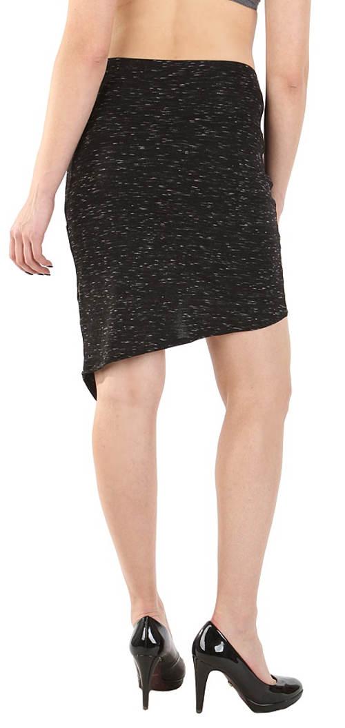 Společenská melirovaná sukně