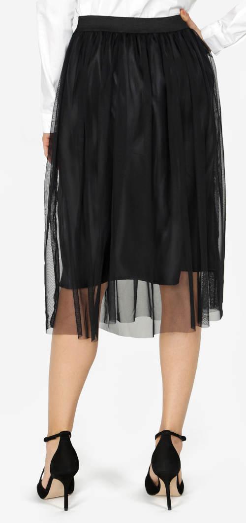 Černá společenská tutu sukně