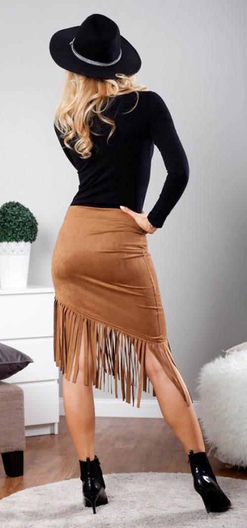 Dámská country sukně