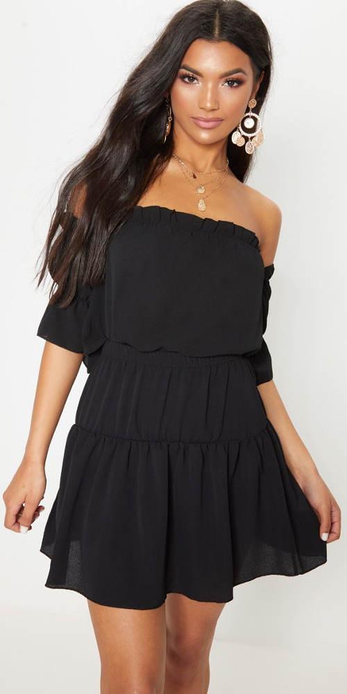 Lehce průsvitná letní sukně