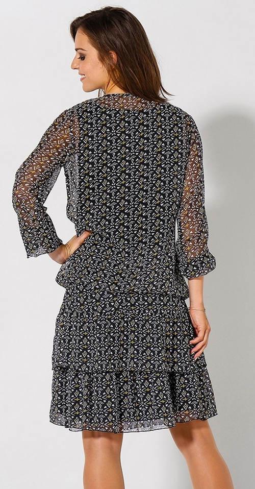Lehká sukně pro plnější tvary