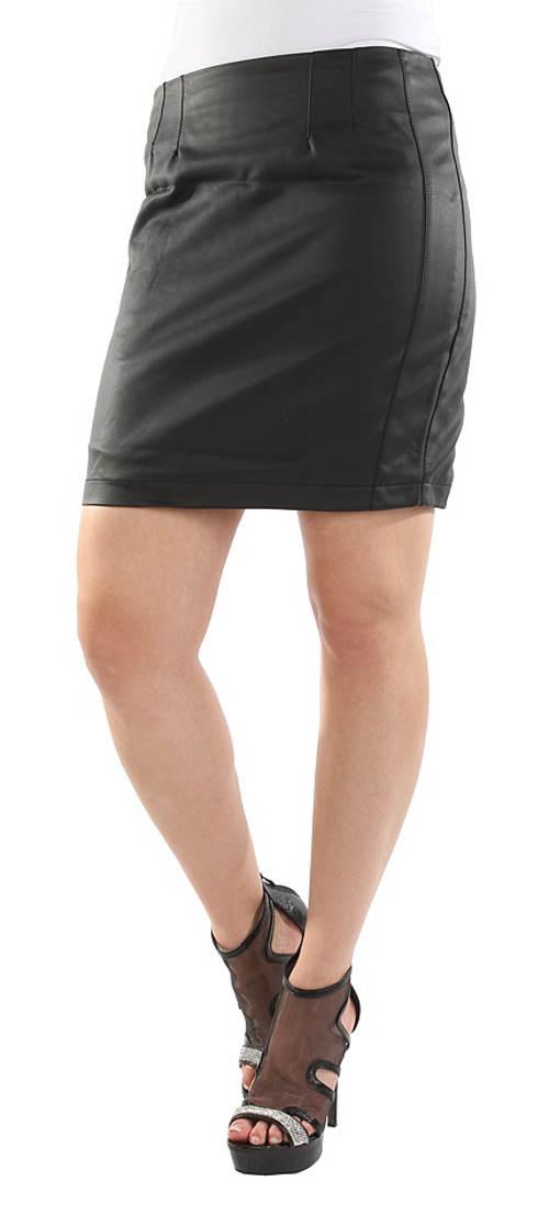 Levná černá sukně pro každodenní nošení