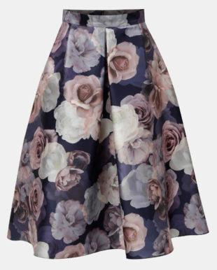 Roztomilá květinová sukně do áčka