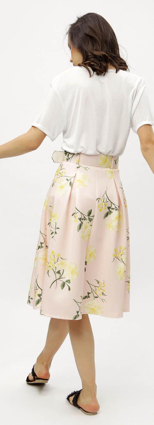 Sukně s širokou gumou a odnímatelným paskem