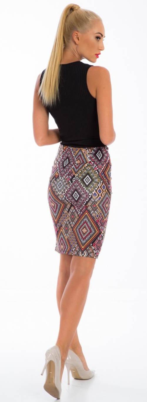 Úzká etno sukně