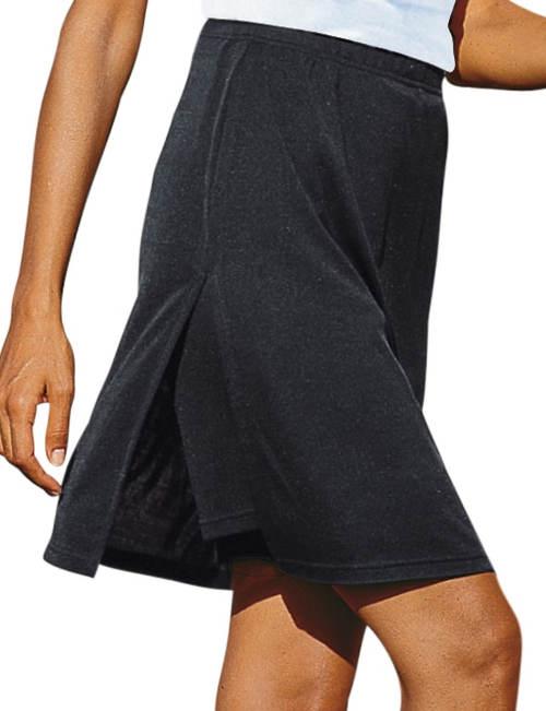 Černá krátká kalhotová sukně