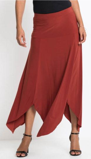 Cípatá dlouhá sukně