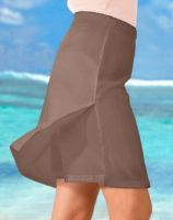 Kalhotová letní plážová sukně