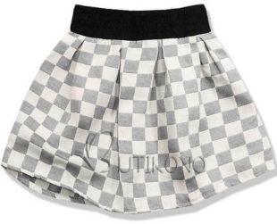 Kostkovaná letní sukně výprodej