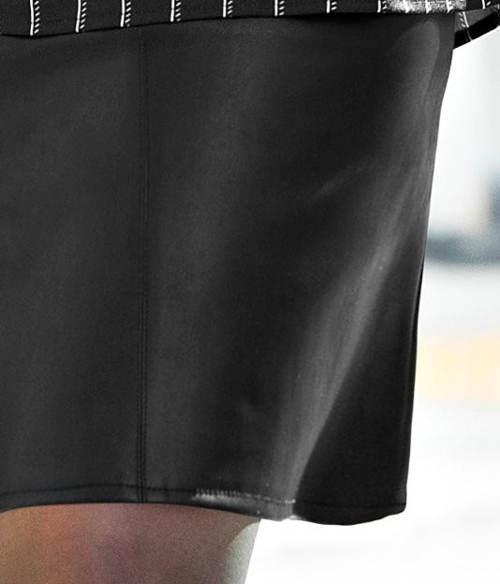 Kožená XXL sukně