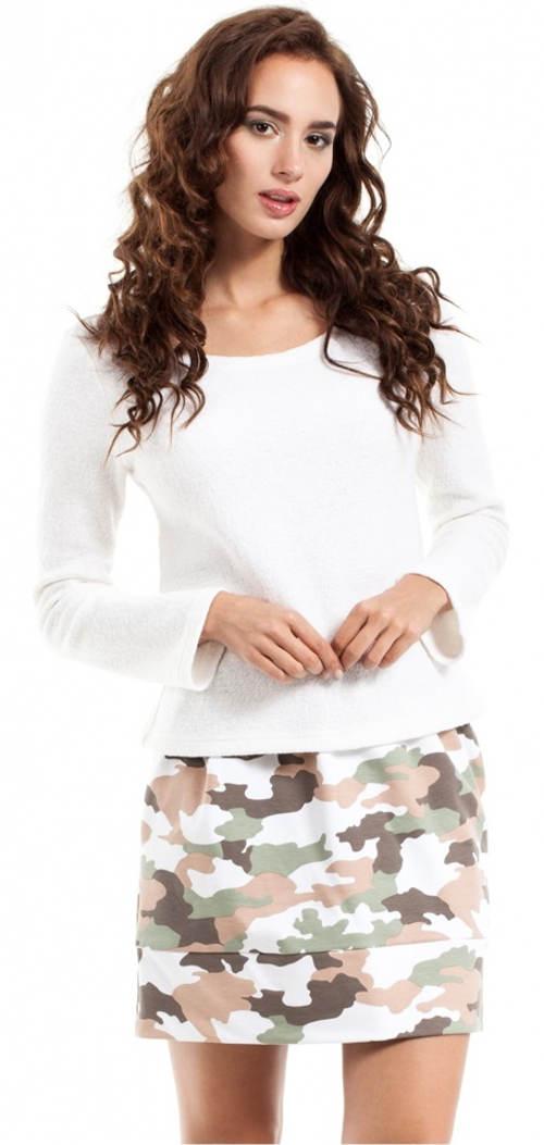 Krátká dámská army sukně