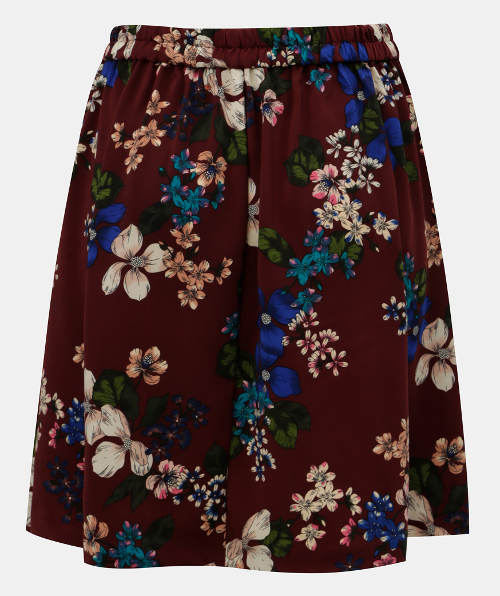 Letní květinová sukně do gumy