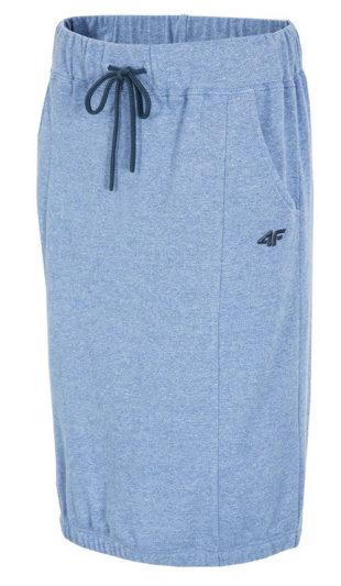 Modrá sportovní bavlněná sukně