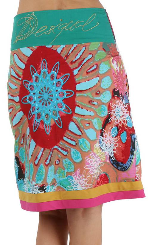 Pestrobarevná dámská sukně Desigual
