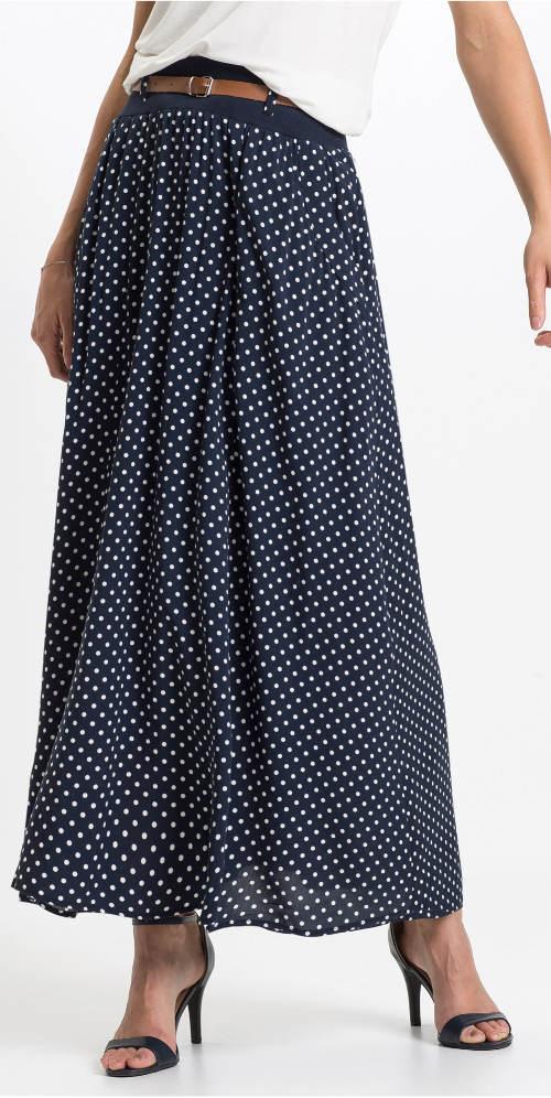 Dlouhá letní maxi sukně