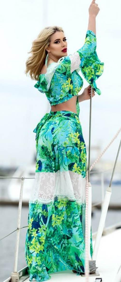 Sukňový komplet na dovolenou k moři