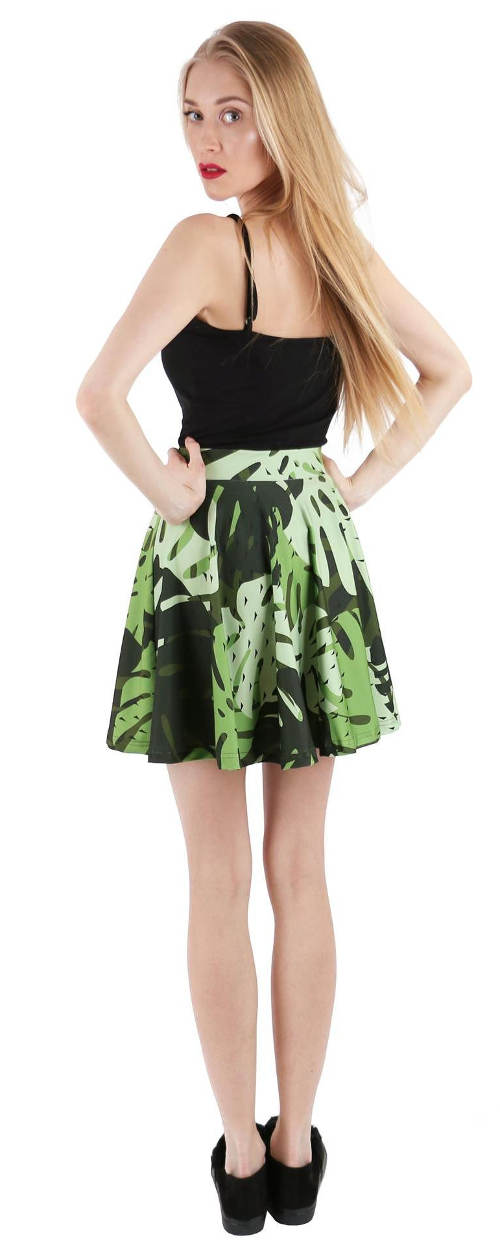 Zelená sukně k tílku