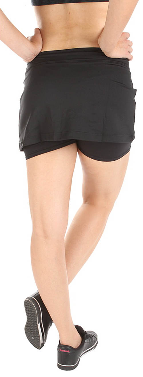 Černá sportovní sukně Reebok