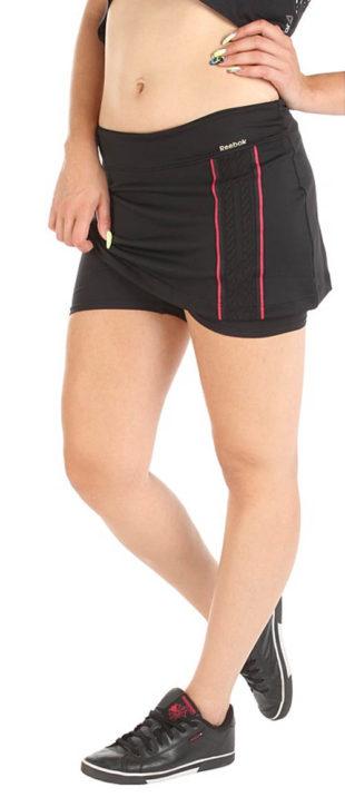 Černá tenisová sukně Reebok 8ddf0122f6