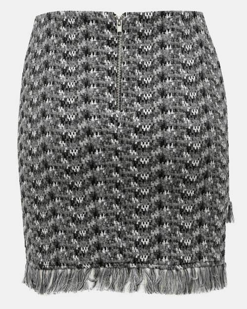 Jarní dámská sukně s třásněmi