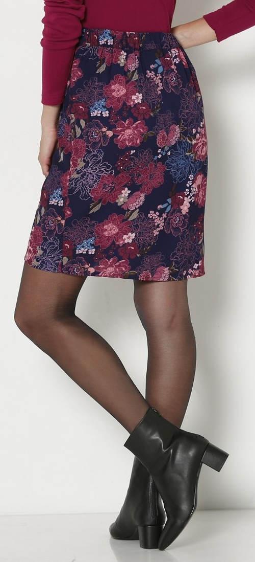 Květinová jarní sukně pro starší