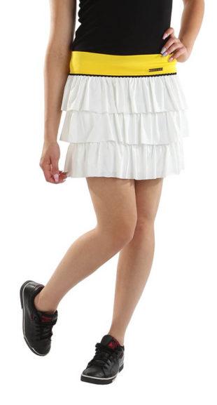 Letní sportovní volánová sukně