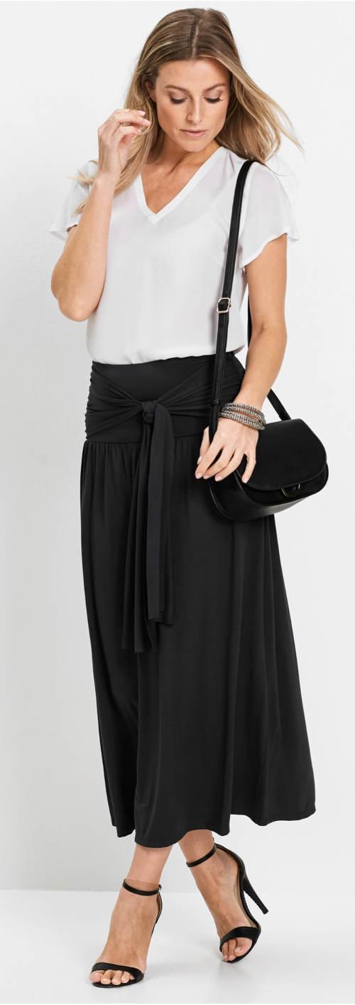 Černá sukně 5 v 1