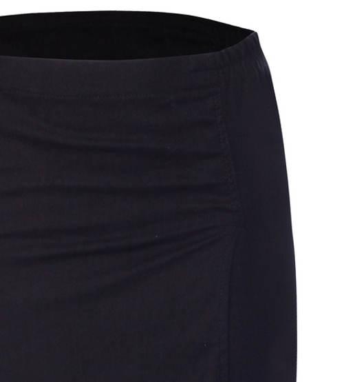 Černá zavinovací sukně nadměrných velikostí