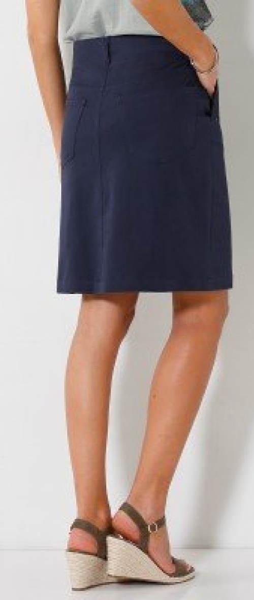 Dámská sukně námořnická modř