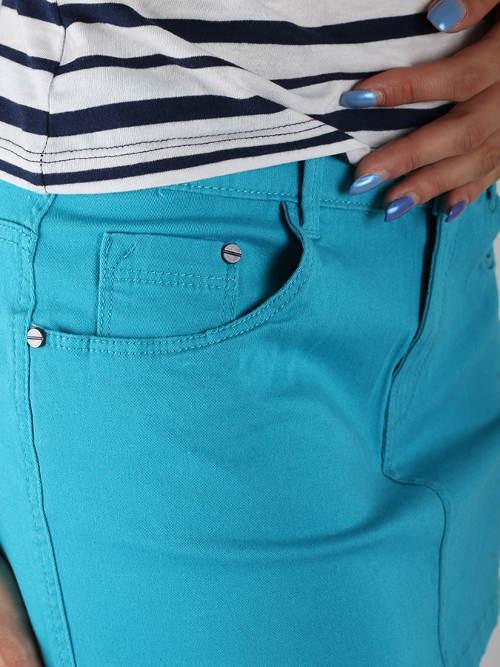 Klasická dámská jeansová sukně