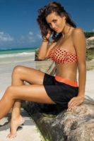 Plážová sukně přes plavky
