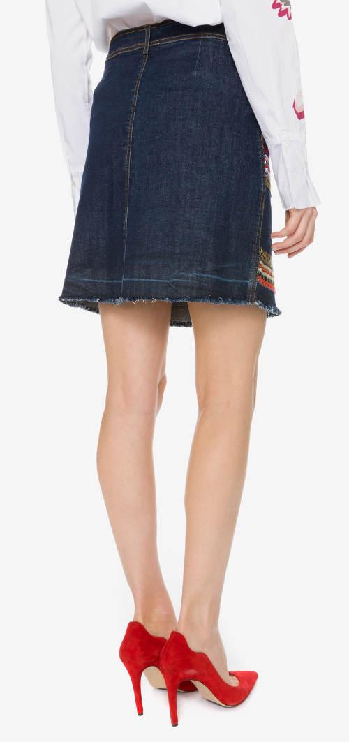 Výprodejová riflová sukně Desigual
