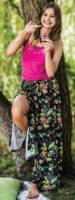 Víceúčelová dámská kalhotová sukně