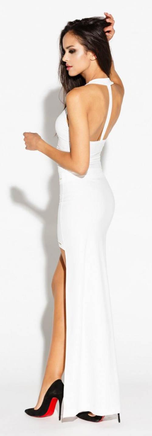 Asymetrická sukně s dlouhou zadní částí