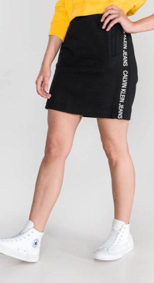 Černá sportovní sukně Calvin Klein